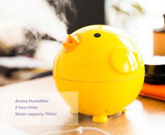 Bahan ABS Ultrasonic Air Humidifier Dengan Aroma Tray Lovely Cartoon Animal Pattern